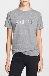 Women's Rodarte 'Radarte' Short Sleeve Crewneck Tee