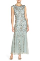 Women's Pisarro Nights Beaded Mermaid Dress