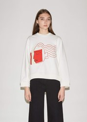 Henrik Vibskov The American Reader Sweatshirt White