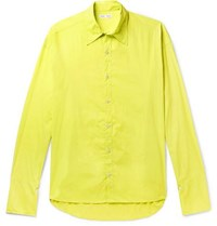 Cmmn Swdn Cecil Washed Shell Shirt Yellow