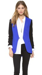 Finders Keepers Ring Me Up Blazer Blue Black