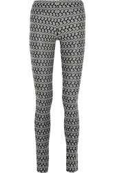 Missoni Crochet Knit Wool Blend Leggings