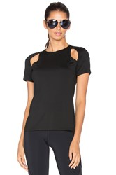 Michi Slash Top Black