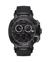 Tissot T Race Men's Black Quartz Chronograph Sport Watch 50Mm No Color