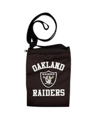 Little Earth Oakland Raiders Gameday Crossbody Bag Team Color