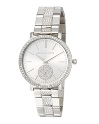 Michael Michael Kors 38Mm Jaryn Glitz Chronograph Watch Silver