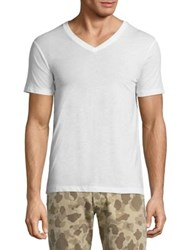 Polo Ralph Lauren Loft Short Sleeve Jersey Tee White