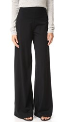 Getting Back To Square One High Rise Palazzo Pants Black