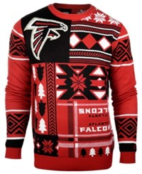 Forever Collectibles Men's Atlanta Falcons Patches Christmas Sweater
