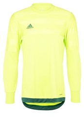 Adidas Performance Entry Sports Shirt Slime Darkgreen Neon Green