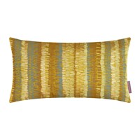 Clarissa Hulse Textured Stripe Cushion 30X50cm Turmeric Storm