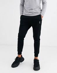 Religion Skinny Fit Logo Joggers In Black