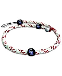 Game Wear Colorado Rockies Frozen Rope Necklace Team Color