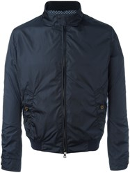 Sealup Zipped Bomber Jacket Blue
