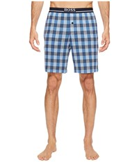 Hugo Boss Relax Short Pants Ew 101909 Blue Print Men's Pajama