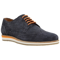 Dune Colour Pop Wedge Sole Suede Brogues