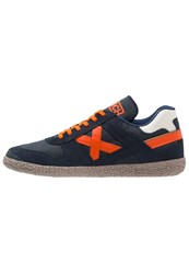Munich Goal Trainers Navy Orange Dark Blue