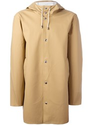 Stutterheim 'Stockholm' Raincoat Nude And Neutrals