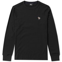 Paul Smith Long Sleeve Zebra Logo Tee Black