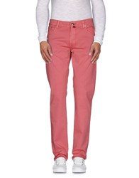 Pt05 Trousers Casual Trousers Men Coral