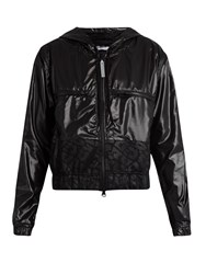 Adidas By Stella Mccartney Hooded Performance Jacket Black