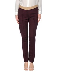 Hoss Intropia Trousers Casual Trousers Women Purple