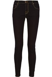 Tomas Maier High Rise Skinny Jeans Blue