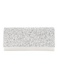 Jane Norman Silver Embelished Diamante Party Clutch