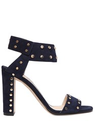 Jimmy Choo 100Mm Veto Studded Suede Sandals