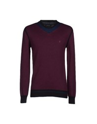 Junk De Luxe Knitwear Jumpers Men Mauve