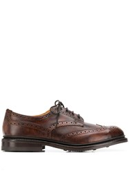 Tricker's Trickers Dainite Sole Derby Shoes Brown