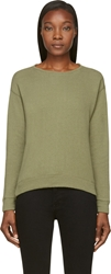 Nlst Green Crewneck Sweatshirt