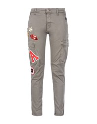 George J. Love Trousers Casual Trousers Women Military Green