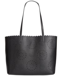 Inc International Concepts Melly Starburst Tote Only At Macy's Black