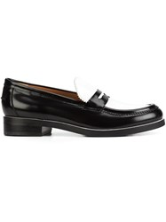 Derek Lam Colour Block Loafers Black