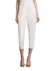 Peserico Cropped Jogger Pants Cream