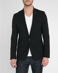 Ikks Black Collar Jacket