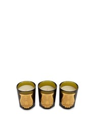 Cire Trudon Odeurs Royales Set Of Three Scented Candles Multi