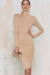 Nasty Gal Rise Of Dawn Royals Only Bodycon Dress