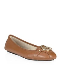 Michael Michael Kors Fulton Leather Moccasin Female
