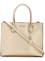 Michael Michael Kors Jet Set Travel Tote Women Leather One Size Metallic