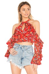 House Of Harlow X Revolve Harmony Top Red