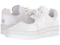 Yohji Yamamoto Adidas Y 3 By Wedge Stan Footwear White Core Black Footwear White Shoes