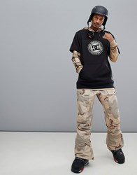 Dc Shoes Asylum Snow Pant In Incense Camo Stone