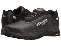 Columbia Trient Outdry Extreme Black White Men's Running Shoes