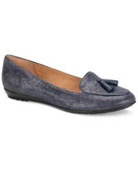 Sofft Bryce Flats Women's Shoes Navy Paisley