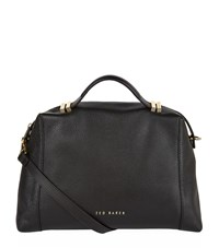 Ted Baker Albee Leather Tote Female Black