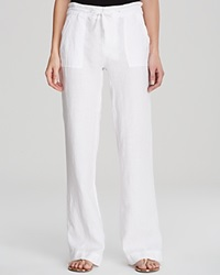 Moon And Meadow Drawstring Linen Pants