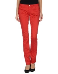 Siviglia Denim Casual Pants Red