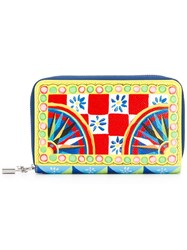Dolce And Gabbana Mambo Print Wallet